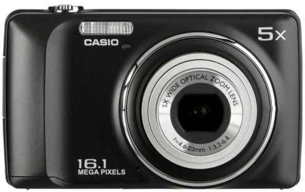 Casio QV R300, 16MP Digitalkamera mit 5x Zoom für je 39€