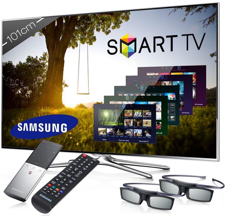 Samsung UE40F6500, 40Zoll 3D Smart TV mit Sprachsteuerung für 569€