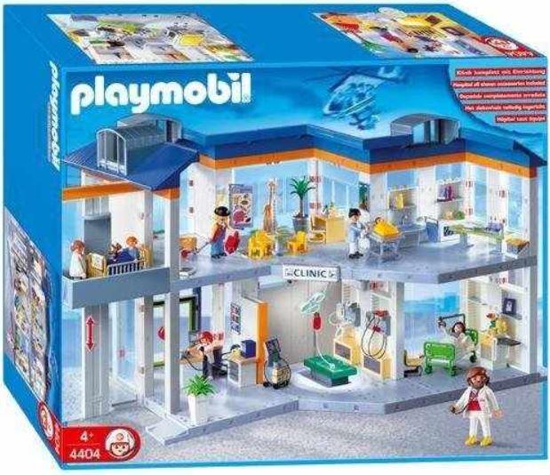 PLAYMOBIL   Großes Krankenhaus 4404 für 89,99€