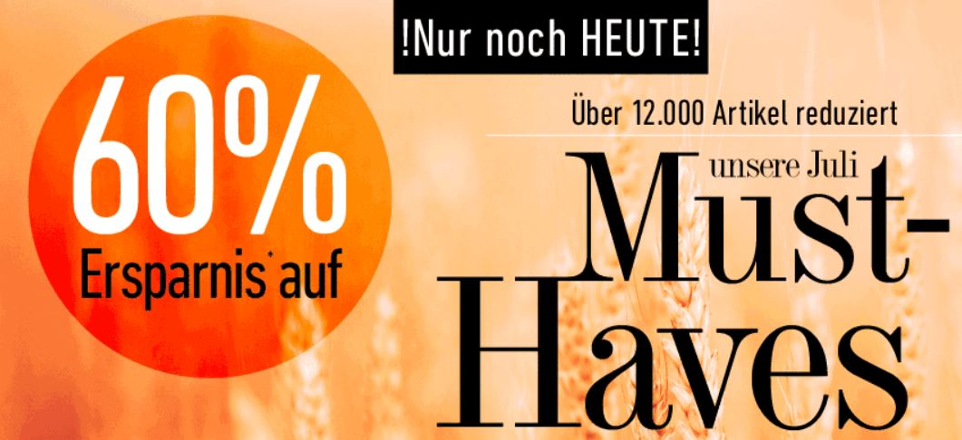 Dress for Less   Must Haves Sale mit 60% Rabatt + 10€ Gutschein   nur heute!