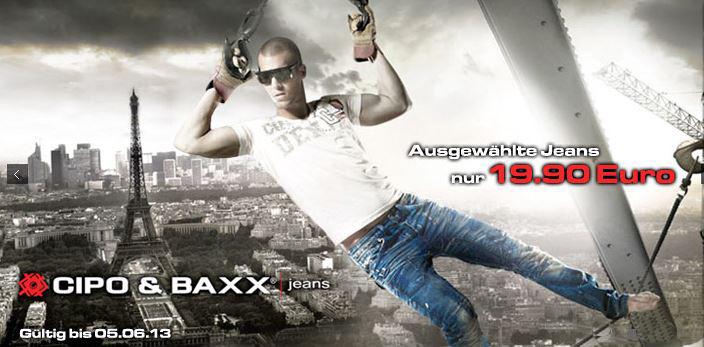 CIPO & BAXX Jeans bei den Hoodboyz für nur 19,90€
