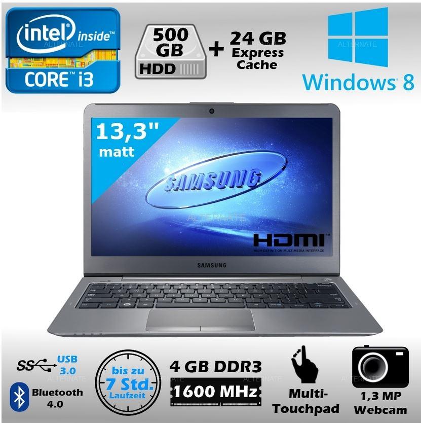 Samsung Serie 5 Ultra 530U3C A0B, 13 Ultrabook mit i3 CPU für 459€