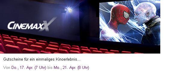 Neuer CINEMAXX Sale mit Rabatten auf Tickets z.B. 5 für 28€   Update!