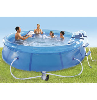 Intex Easy Pool Set 366 x 91cm mit Filterpumpe für 60,94€ inkl. Versand (statt 95€)