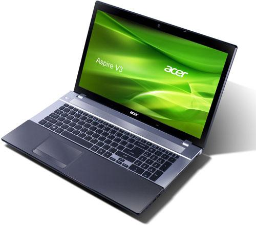 Acer Aspire V3 771   17 Notebook mit i3 3110M, 8GB RAM und 750GB HDD für 444€  Wieder da!