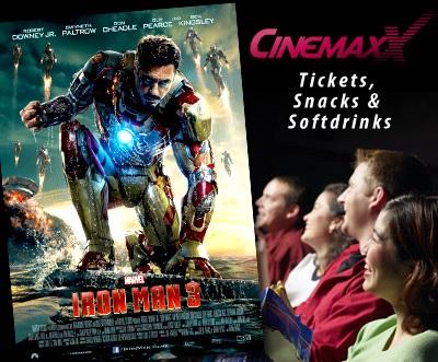 Update! Cinemaxx Ticketaktion für Kinos   z. B. 5 Tickets für 29,90€