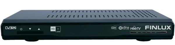 Finlux FS2 7110 für 61€   HDTV SAT Receiver mit HD+ Karte