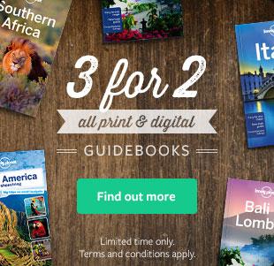 Update! Bis zu 50% Rabatt auf Lonely Planet Reiseführer