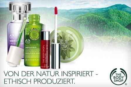 35€ The Body Shop Gutschein für 17,50€ bei Groupon