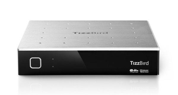 TizzBird F20 für 78,95€   Media Player mit Android Smart TV