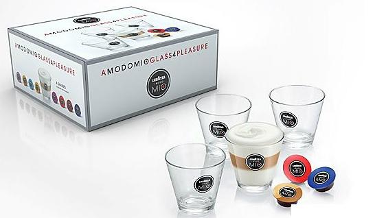 4 LAVAZZA A Modo Mio Latte Macchiato Gläser ab 5€ (statt 20€)