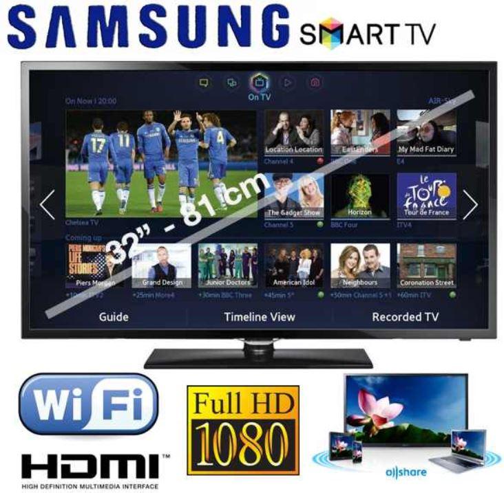 Samsung 32F5300 Full HD LED SmartTV  für 308,90€