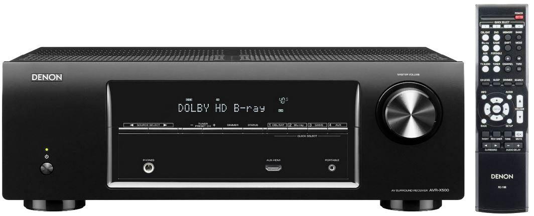 Denon AVR X500 5.1 AV Receiver und mehr bei den Amazon Blitzangeboten