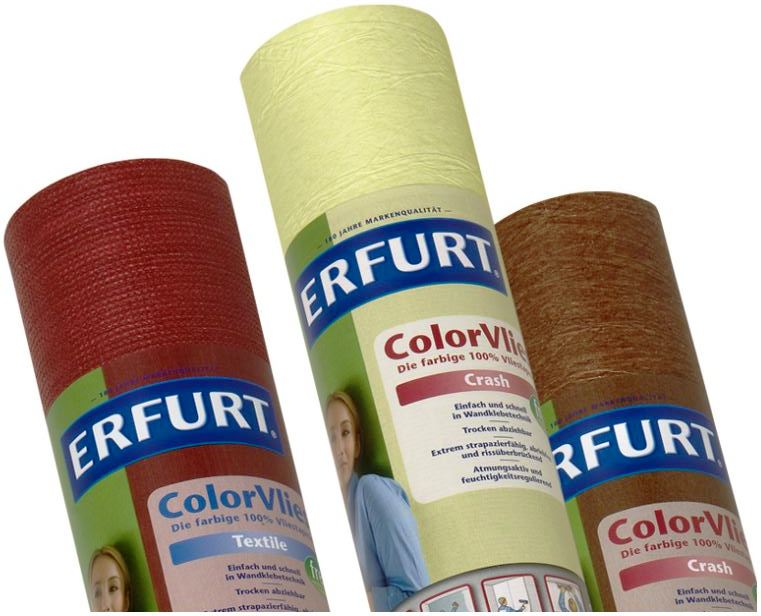 Erfurt Color Vlies Tapete, je Rolle 3,95€