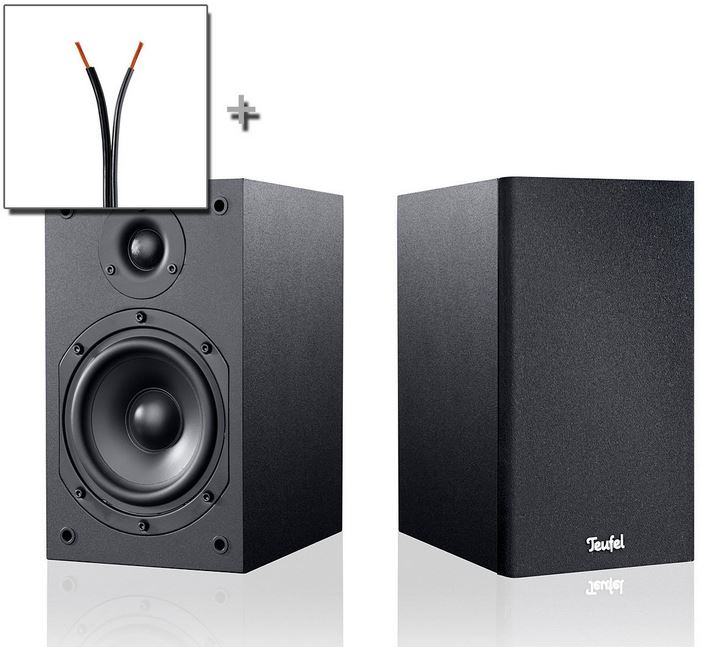 Teufel VT 11 Stereo Regal Lautsprecher Set für 72,32€   Update