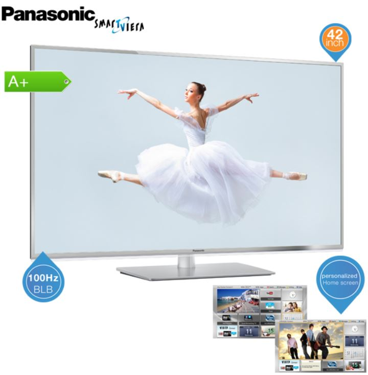 Panasonic TX L42E6E, 42 Zoll Smart TV mit IPS Panel für 478,90€