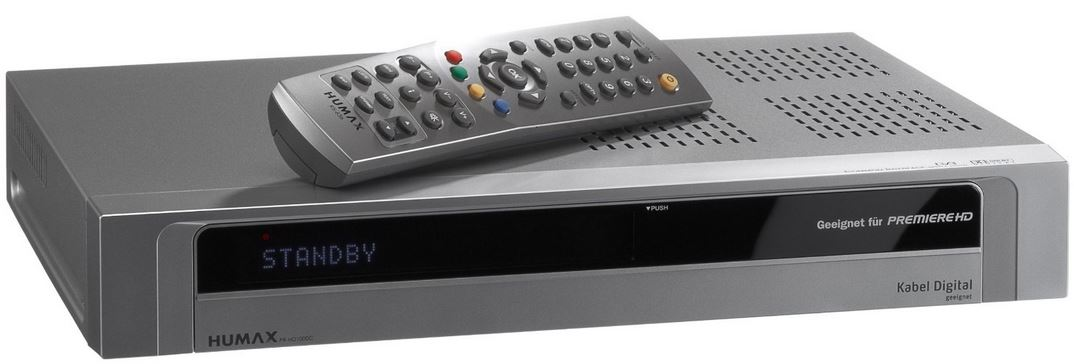 Humax PR HD1000, Sat HD Receiver, sky ready, für 39€