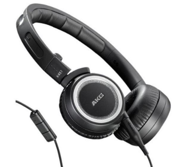 AKG K451 Kopfhörer mit Apple iPhone Steuerung für 39€ (statt 53€)