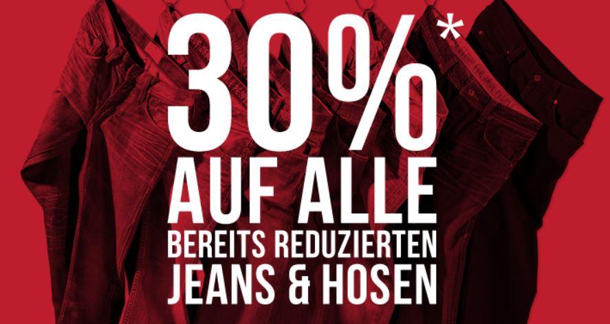 Mustang SALE   30% auf alle reduzierten Jeans   Update