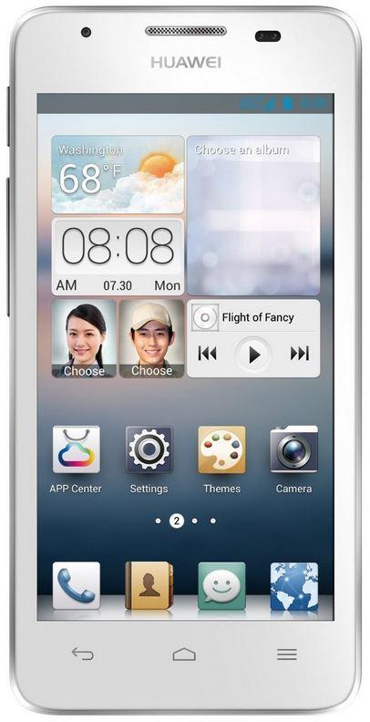 Huawei Ascend G510, Smartphone weiß   B Ware für 139,90€