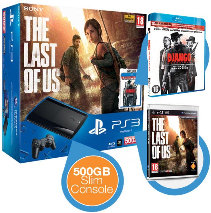 *Update* PlayStation 3 Super Slim 500GB + GTA 5 + The Last Of Us (engl. Sprache) für ~240,74€ inkl. Versand