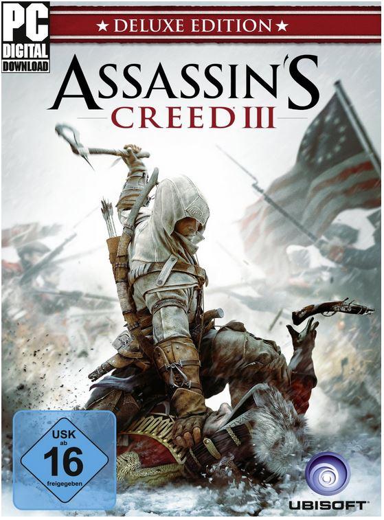 Assassins Creed 3   Digital Deluxe Edition und andere Games bei den Amazon Downloads der Woche