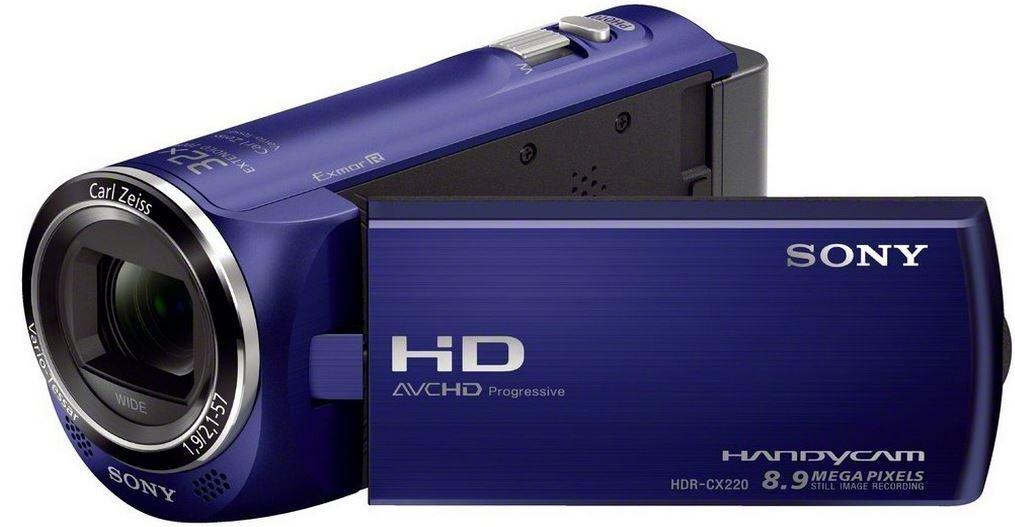 Sony HDR CX220EL HD Camcorder für 149€ und mehr bei den Amazon Blitzangeboten