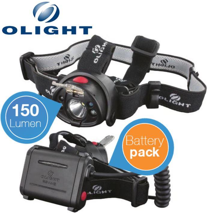 Olight H15 Wave, LED Stirnlampe mit 150lm für 29,90€
