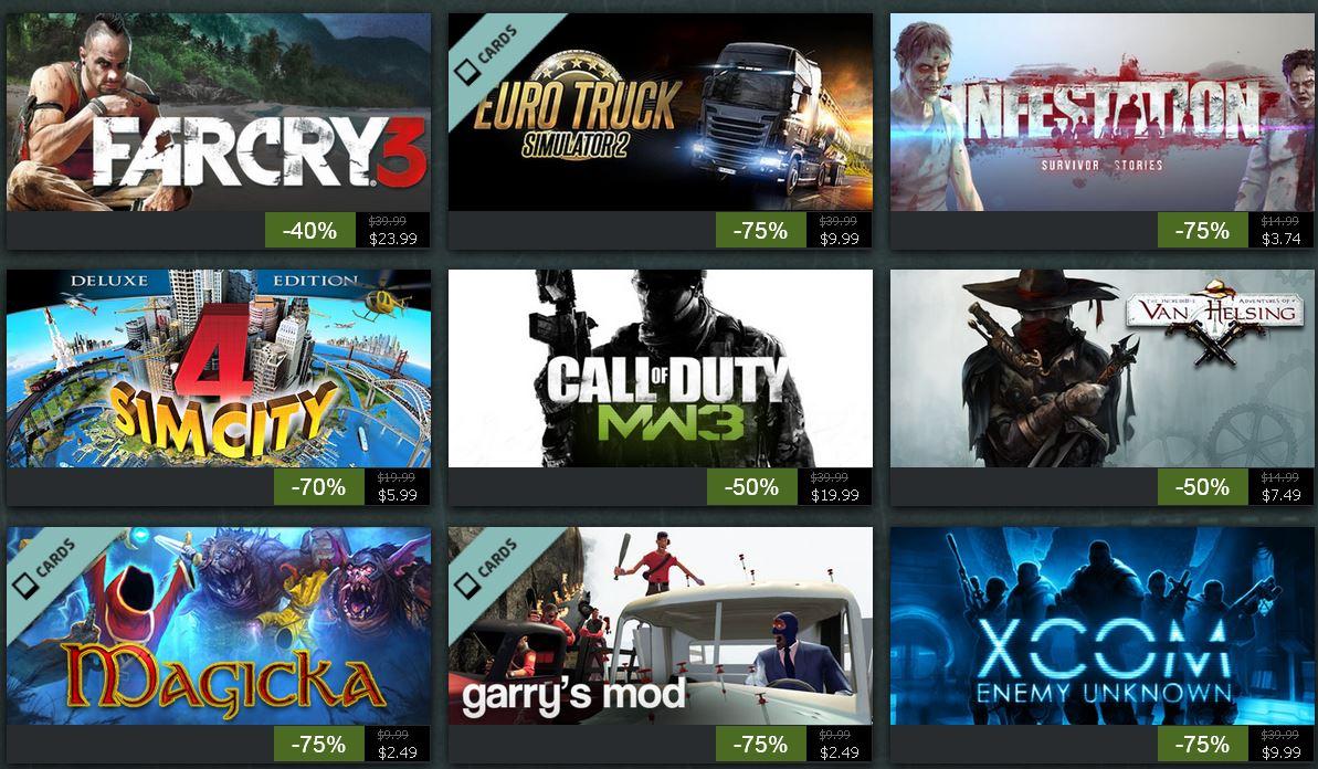 Steam Sommeraktion   jeden Tag neue Spiele mit bis 75% Rabatt!   Tag 8