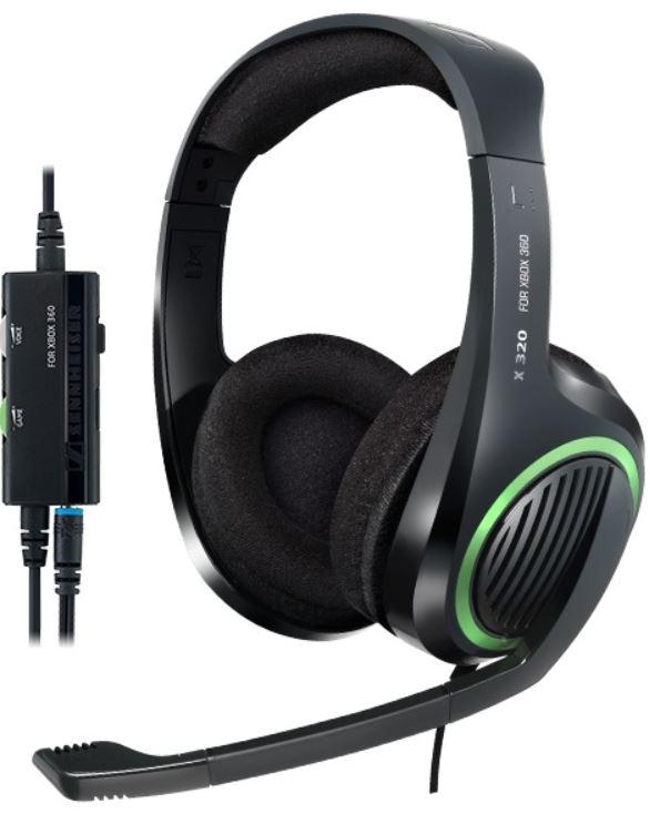 Sennheiser X 320   Gaming Headset für Xbox 360 nur 24,90€   Update!