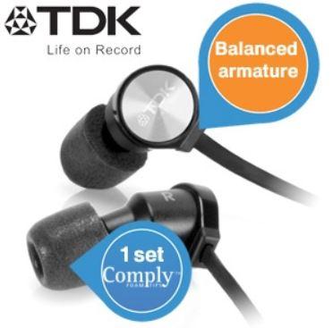 TDK Life on Record BA100 In Ears für nur 35,90€  wieder da
