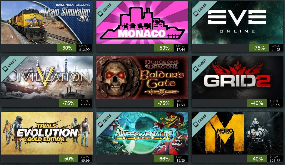 Steam Sommeraktion   jeden Tag neue Spiele mit bis 75% Rabatt!   Tag 9