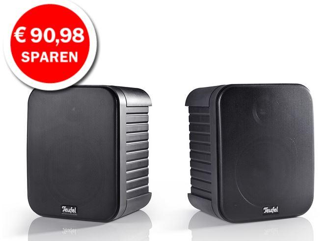 Teufel Omniton 202   Lautsprecher in HiFi Qualität das Paar für 119,59€ dank Gutscheincode