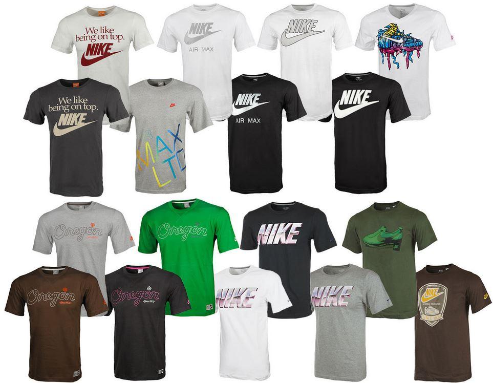 Nike 9 Modelle Herren T Shirts für je 15,15€