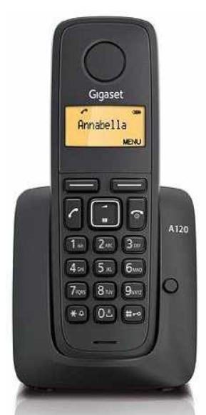 Gigaset A120 Single Schnurlostelefon für 9,29€