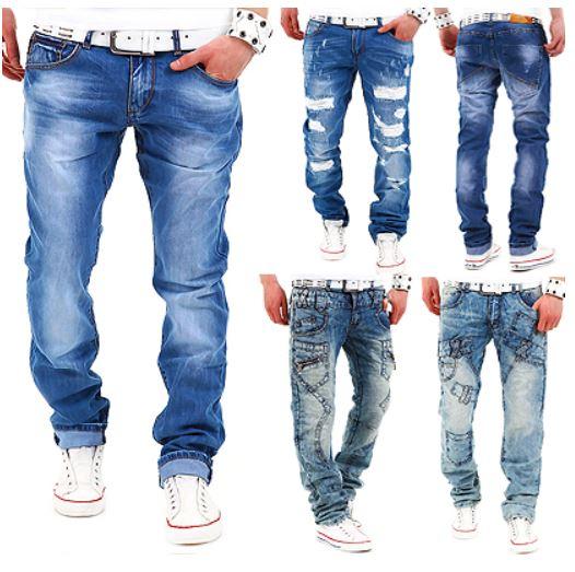 Herren Jeans, Straight Fit, verschiedene Modelle je 24,90€