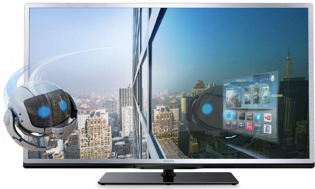 Philips 46PFL4508K/12, 46Zoll 3D WLan Smart TV für 649€