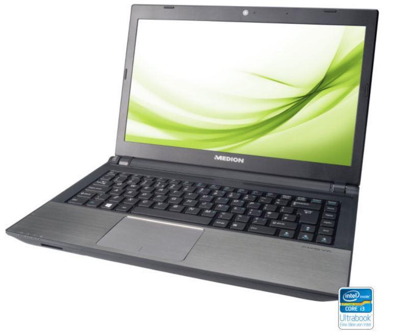 MEDION S4216   14Zoll Ultrabook mit i3 und 1032GB Festplatten SSD Kombi für 349€
