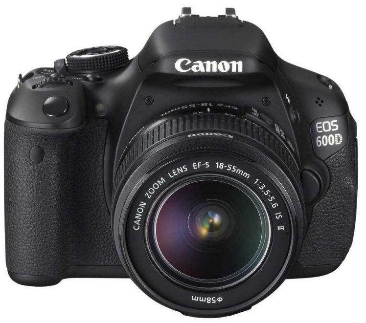 CANON EOS 600D Digital Kamera mit 2Objektiven 18 55III + 75 300III für 549€