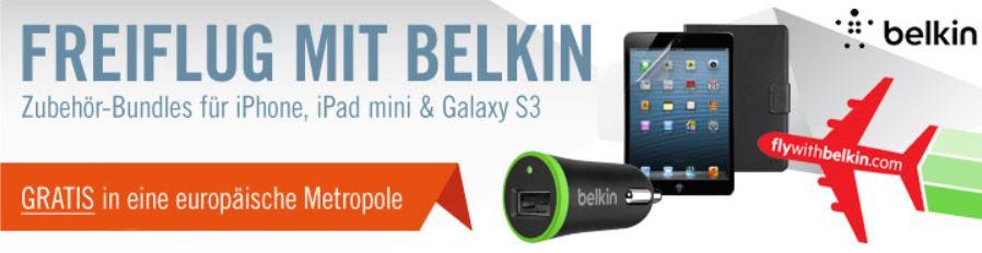 Zubehör für iPhone kaufen (MBW 35€) und kostenlosen Fug (Hin  und Zurück) in Europa abstauben   Update!