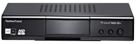 TechnoTrend S825 HD+ Digital Receiver mit HD+ Karte für 64€ statt 86€