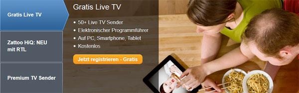 1 Monat Zattoo kostenlos testen   Fernsehen auf Tablet oder Smartphone