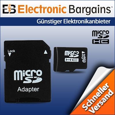 32GB microSDHC für 12,99€   No Name Class10 Speicherkarte