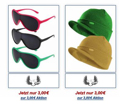 Masterdis, Narkotic, Shmack, Hoodboyz und vielen andere Marken ab 1€ + 10€ Gutschein!