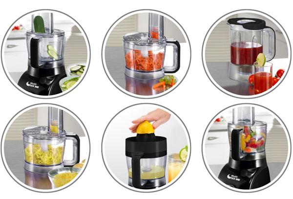 Beem Multi Fixx 500   Küchenmaschine mit 500 Watt für 29,99€
