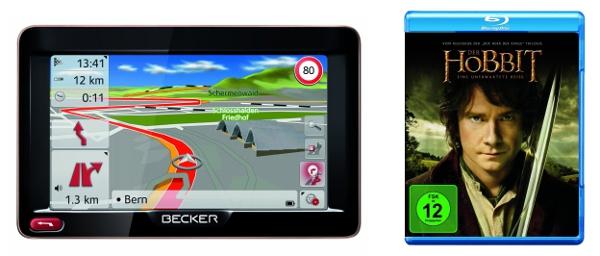 Becker Navigationsgeräte und Filme bei den Amazon Blitzangeboten