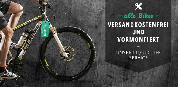 55€ Gutschein für Fahrrad Onlineshop Liquid Life + 25€ Starterkit gratis