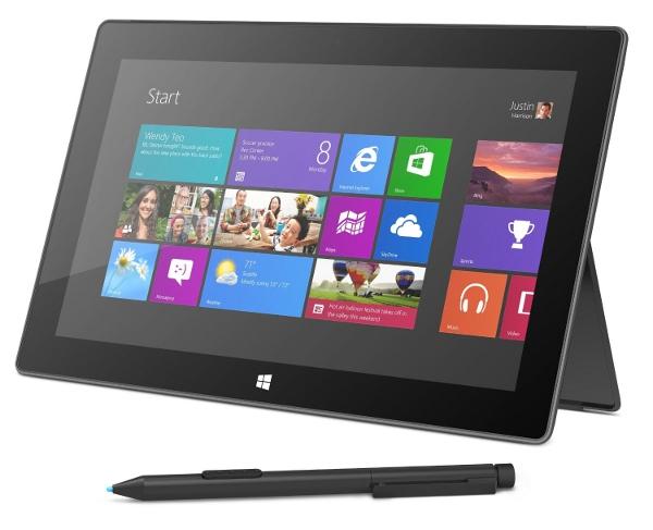 Microsoft Surface Pro 128GB für 749€   Windows 8 Tablet mit i5 Prozessor