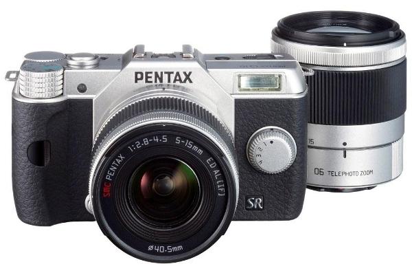 Update! Pentax Q10 für 349€   Systemkamera mit zwei Objektiven