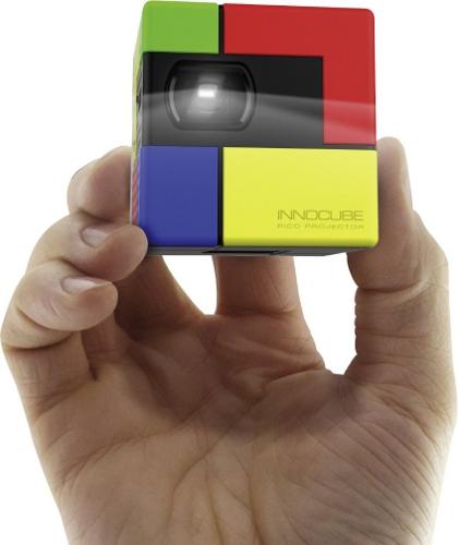 Rollei Innocube für 151,90€   Pico Projektor für Notebook, Smartphone und Tablet